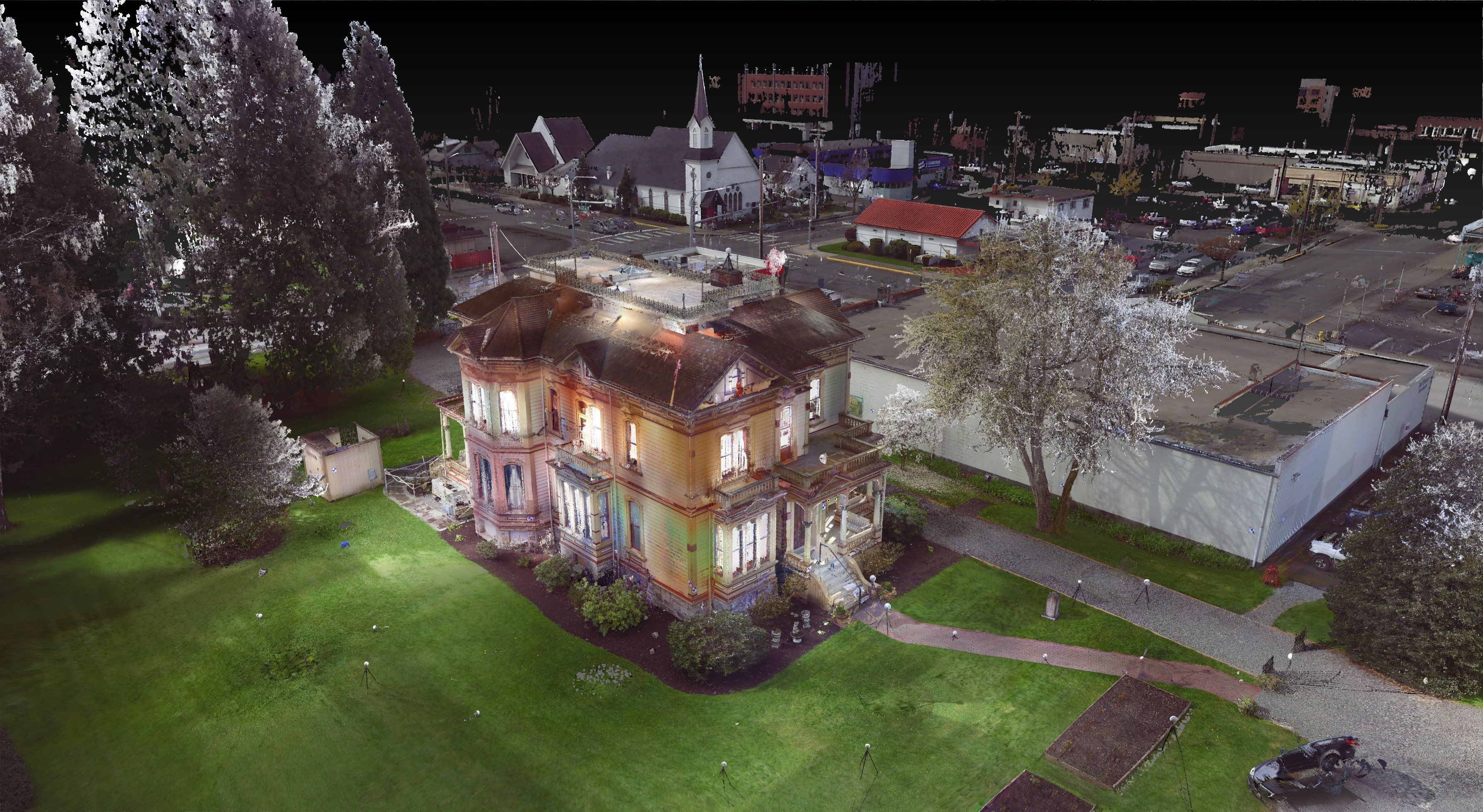 Meeker Mansion 3D Laser Scanning